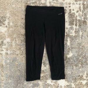 Calvin Klein black performance capri leggings